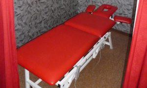 Stół rehabilitacyjny - masaż - Rydułtowy